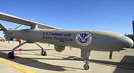 Drone des douanes des États-Unis