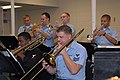 US Navy 080207-N-8102J-003 Navy Band Southeast musicians practice their instruments during band rehearsals.jpg