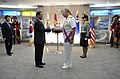 US Navy 090706-N-8273J-136 Chief of Naval Operations (CNO) Adm. Gary Roughead receives the National Security Merit Tongil Medal for his outstanding and meritorious service rendered to the Republic of Korea.jpg