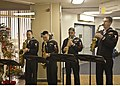 US Navy 091216-N-2218S-005 A saxophone quartet from the U.S. 7th Fleet Band plays Christmas songs in the lobby of Naval Hospital Yokosuka.jpg