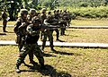 US Navy 100530-M-4916Y-123 Indonesian Marines engage targets during combat marksmanship training with U.S. Marines of the Landing Force, participating in Naval Engagement Activity (NEA) Indonesia 2010.jpg
