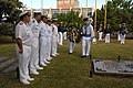 US Navy 110509-N-ZI300-009 UNITAS 52 Atlantic Phase Task Group Commanders participate in a memorial ceremony honoring the Patron of the Brazilian n.jpg