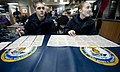 US Navy 111220-N-OY799-332 Sailors play bingo on the aft mess decks aboard the Nimitz-class aircraft carrier USS John C. Stennis (CVN 74).jpg