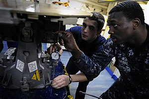 US Navy 120131-N-MD252-059 Sailors perform boresight alignment procedures.jpg