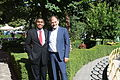 US Senate lobbyist Cary Lee Peterson & Albania Deputy MP Koco Kokedhima - Albania img 5301.jpg
