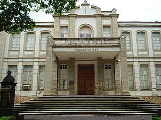 Federal University of Triângulo Mineiro - Facade Of Campus Manaoel Terra