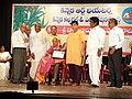Ugadi puraskars of Kinnera Art Theatres 11.jpg
