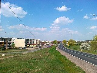 Paterek Village in Kuyavian-Pomeranian Voivodeship, Poland