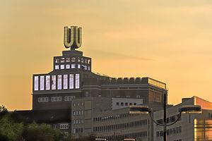 Dortmund U-Tower - Image: Union Brauerei Dortmund