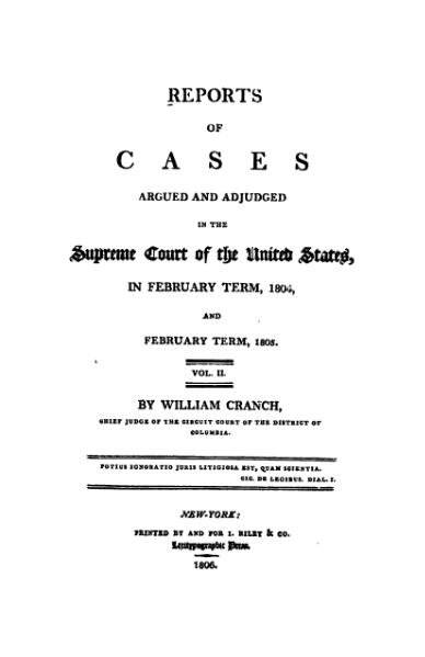 File:United States Reports, Volume 6.djvu