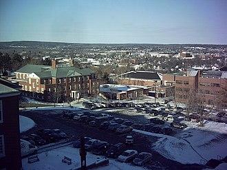 Monarchy in New Brunswick - Image: University of New Brunswick (Fredericton campus, 2005)