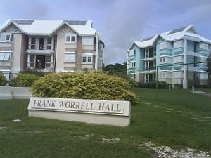 Cave Hill, Saint Michael, Barbados - Dormitories at the Cave Hill Campus of the University of the West Indies.