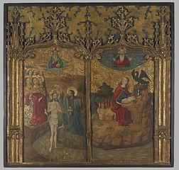The Baptism of Christ and SaintJohn