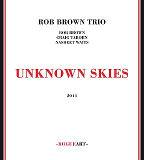 <i>Unknown Skies</i> 2011 live album by Rob Brown