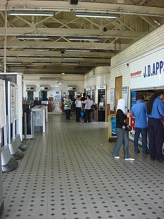 Upton Park tube station - Image: Upton Park tube station 8