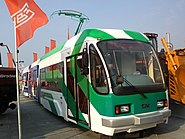 Uralvagonzavod tram at Innoprom