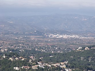 Chiva, Valencia - Image: Urbanizaciones y Chiva