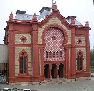Uzhgorod Synagogue - Image: Uschhorod synagoge
