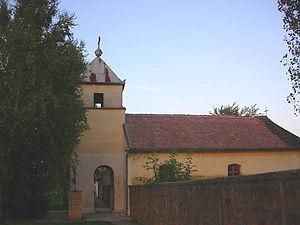 Dobričevo - The old Birth of Blessed Virgin Mary Catholic Church.