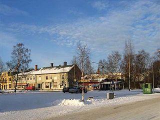 Ljusdal Place in Hälsingland, Sweden