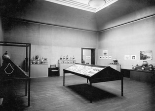 Utställning på Liljevalchs Konsthall 1933. M.C. rummet. Stockholm. utställning. Sverige - SMVK - C05052.tif