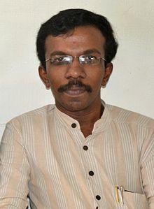 V. K. Adarsh at Wikipedia 10, Eranakulam.JPG