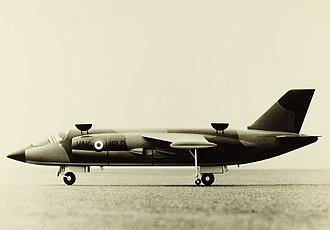 NBMR-3 - Conceptual model of the VFW VAK 191B V/STOL fighter-bomber aircraft