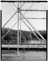 VIEW OF PIN AND RIVET JOINTS - McGirt's Bridge, Spanning Cape Fear River, Elizabethtown, Bladen County, NC HAER NC,9-ELITO.V,1-12.tif