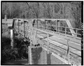 VIEW OF WESTERN PORTAL - North Carolina Route 1116 Bridge, Spanning Jacob Fork River, Longview, Catawba County, NC HAER NC,18-LONV.V,1-4.tif