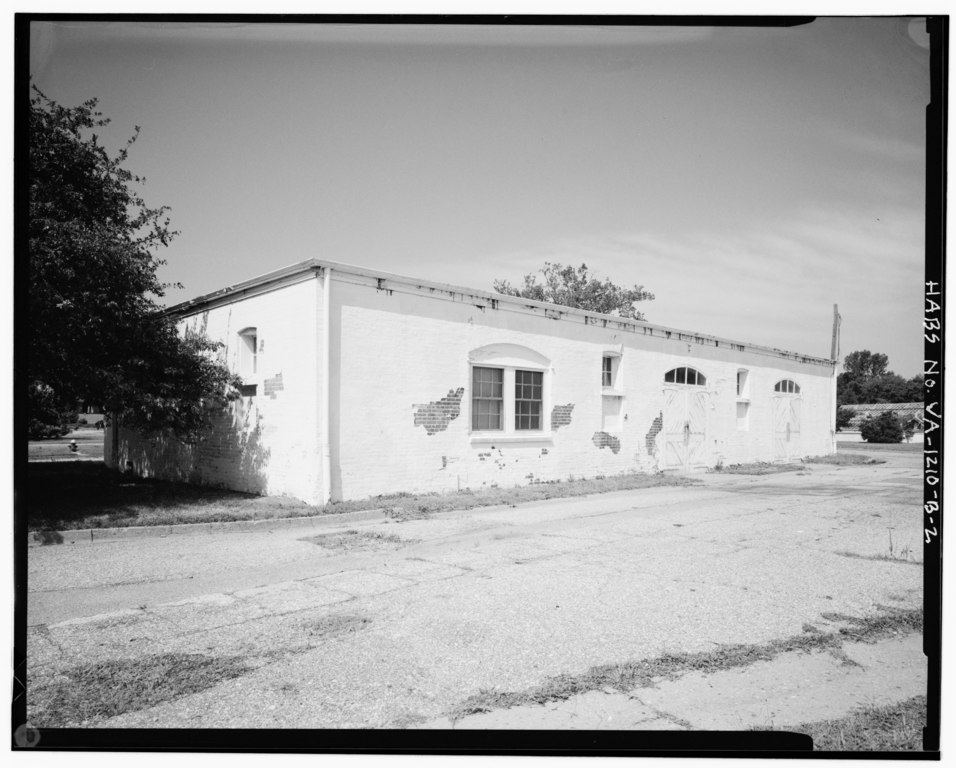 , SHOWING NORTHEAST ELEVATION - Southern Branch of the National Home ...