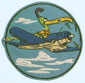 HMH-462 - Squadrons logo during WWII when they were VMF-462