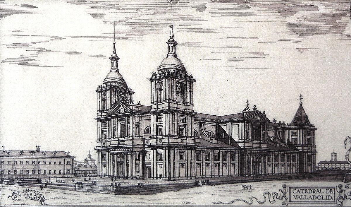 Torres de la catedral de valladolid wikipedia la - Arquitectos en valladolid ...