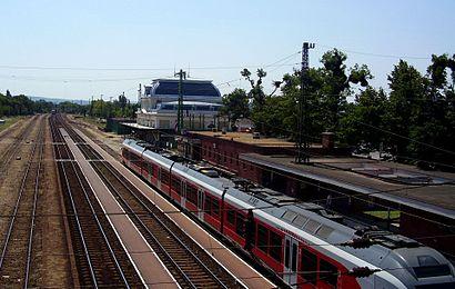 Menetrendek Gödöllő Vasútállomás tömegközlekedéssel