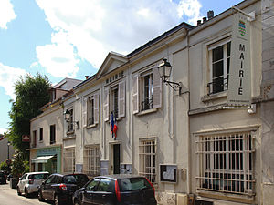 Vaucresson - The town hall of Vaucresson