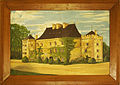 Vay Castle in 1906 by unknown painter.jpg