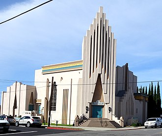 First Baptist Church of Ventura - Image: Ventura Center for Spiritual Living, fka First Baptist Church of Ventura