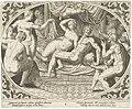 Venus en Mars betrapt op overspel Venus en Mars (serietitel), RP-P-1900-A-21983.jpg