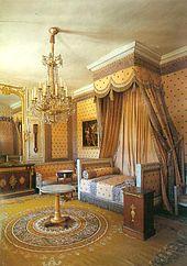 Grand Trianon, Das Schlafzimmer Napoléons