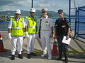 Very friendly RMN Provost and USS Curtis members in LIMA 2011, Langkawi.jpg