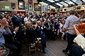 Vice President Joe Biden applauds for Irish dancers and the band the Chieftains, at Matt Malloy's pub in Westport, Ireland.jpg