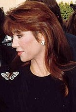 Victoria Principal at the 39th Emmy Awards cropped
