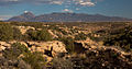 View down Little Ruins Canon with Sleeping Ute Mountain (6348157774).jpg