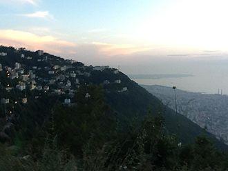 Batha, Lebanon - Batha as seen from Ghosta
