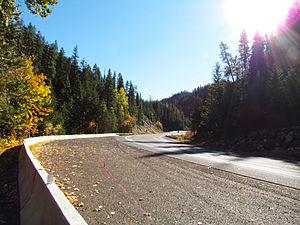Blewett Pass - Image: View of Blewett Pass