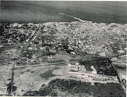 Overview of Manama, 1953.