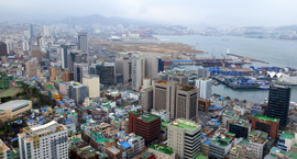 View of Office Buildings from Busan Tower.png