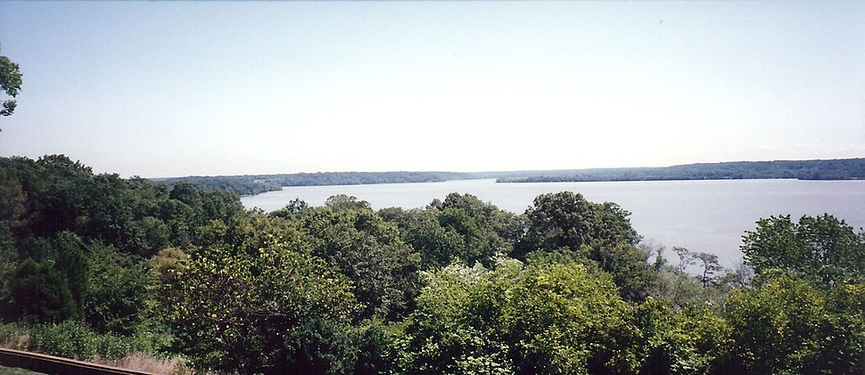 View of Potomac River from Mount Vernon