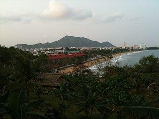 Qui Nhơn City in Bình Định, Vietnam