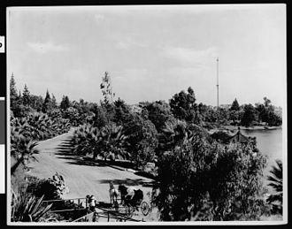 Henricus Wallace Westlake - Westlake Park around 1900