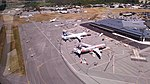 View of planes at Queenstown Airport from ZK-IDN 06.jpg